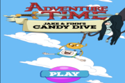 Adventure Time: Jake & Finn's Candy Dive
