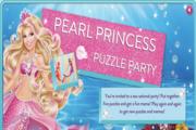 Barbie Pearl Princess Puzzle Party