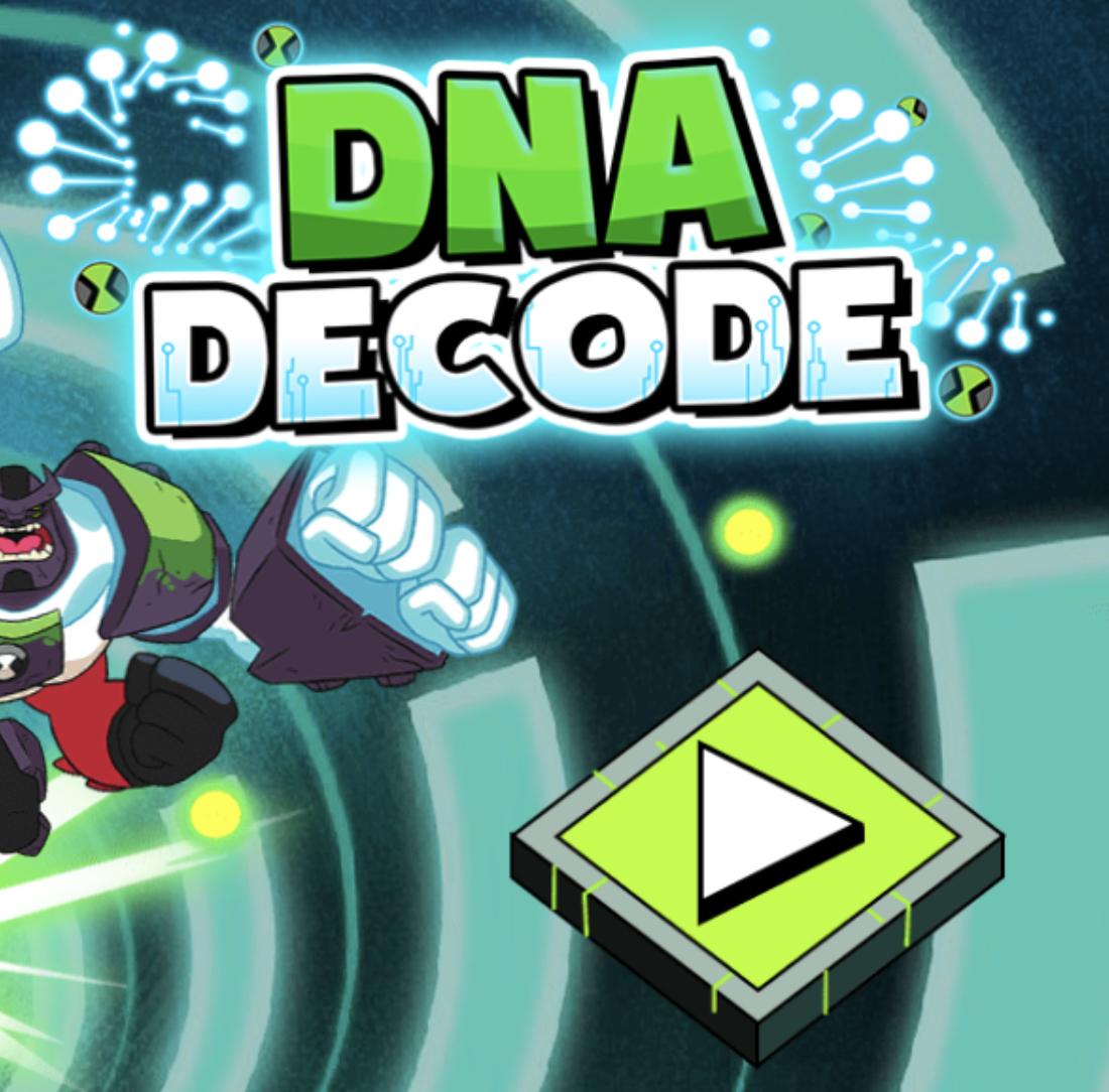 Ben 10 DNA Decode