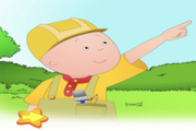 Caillou Building with Caillou