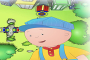 Caillou Train Conductor