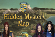 Descendants Auradon Hidden Mystery Map