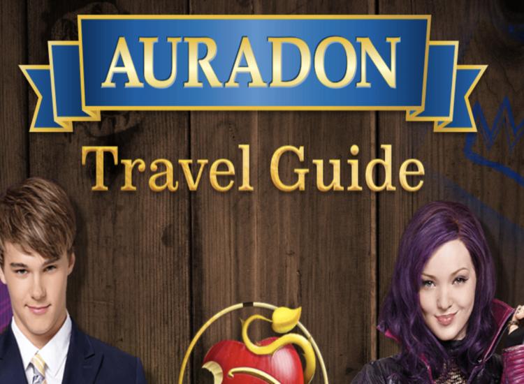 Descendants Auradon Travel Guide