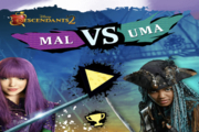 Descendants Mal vs Uma