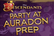 Descendants Party at Auradon Prep