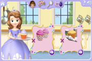 Disney Sofia The First Cupcake Party