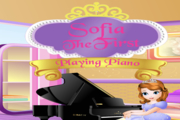 Disney Sofia the First Playing Piano