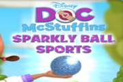 Doc McStuffins Sparkly Ball Sports