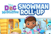 Doc McStuffins Doc's Snowman Roll-Up