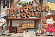 Gravity Falls Attic Stuff Golf
