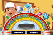 Handy Manny World Music with Manny