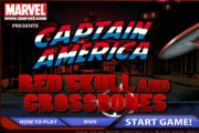 Marvel Red Skull and Crossbones