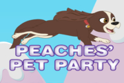 Polly Pocket Peaches' Pet Party