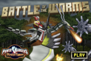 Power Rangers Battle of the Worms