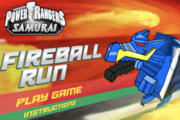 Power Rangers Fireball Run