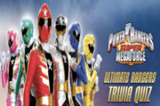 Power Rangers Ultimate Rangers Trivia Quiz