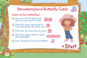 Strawberry Shortcake Strawberryland Butterfly Catch