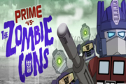 Transformers Prime VS The Zombie Cons
