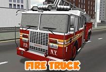 Fire Truck Simulator 3D